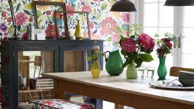 Use-Floral-Prints-in-Decoration-medium-banooyeshahr-390x220 عید نوروز و استفاده از گل و گلدان در دکوراسیون منزل خانه مد دکوراسیون   وردنگار