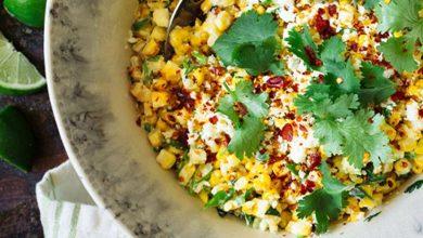 26-10-390x220 طرز تهیه خوراک لوبیا و ذرت با سس مایونز چیپوتل | غذایی برای گیاهخواران آشپزی شام غذاهای گیاهی   وردنگار