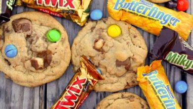 Candylicious-Junkyard-Cookies-Perfect-for-getting-rid-of-all-that-Halloween-Candy.-cookies1-390x220 طرز تهیه کوکی های آب نباتی آشپزی شیرینی ها   وردنگار