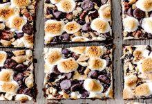 Untitled-1-220x150 طرز تهیهدسر شکلات کاراملی آجیلی و  دسر آجیل و موز، ویژهی عید نوروز آشپزی دسرها   وردنگار