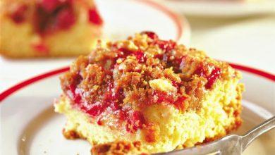 cranberry-coffee-cake-390x220 کیک قهوه کرن بری را چگونه درست کنیم؟ آشپزی کیک ها   وردنگار