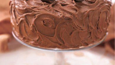 dark-chocolate-chiffon-cake-390x220 آموزش طرز تهیه کیک شیفون با روکش شکلات تلخ آشپزی کیک ها   وردنگار
