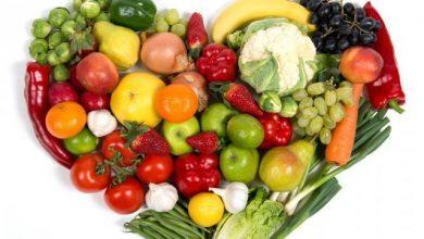 fruit_and_vegetable_heart_shutterstock__medium_4x31-390x220 معرفی 15 مادهی غذایی برای کاهش خطر ابتلا به بیماری های قلبی تغذیه سالم سلامت   وردنگار