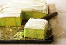 lemon-lime-refrigerator-sheet-cake-220x150 آموزش طرز تهیه کیک یخچالی لیمویی آشپزی کیک ها   وردنگار