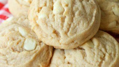 mini-reeses-cup-cookies-11-390x220 طرز تهیه کوکی دارچینی شکلات سفید مناسب برای جشن ها و عیدها آشپزی شیرینی ها   وردنگار