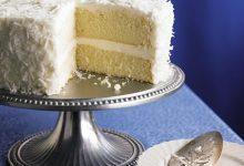 southern-sour-cream-coconut-layer-cake-220x150 آموزش طرز تهیه کیک نارگیلی خامه ای آشپزی کیک ها   وردنگار
