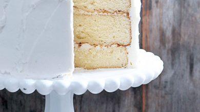 white-cake-DSC_5142-390x220 آموزش طرز پخت کیک سفید آشپزی کیک ها   وردنگار