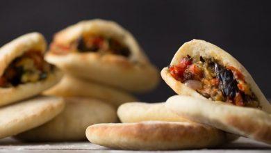 30205-390x220 آموزش طرز تهیه ساندویچ مرغ با نان پیتا + ارزش غذایی و میزان کالری آشپزی نهار   وردنگار