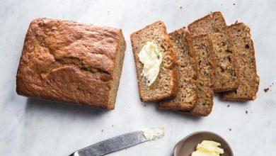 EP-20150323-BananaBread-nochocolate-hires-390x220 آموزش طرز تهیه نان تست موز آشپزی صبحانه   وردنگار