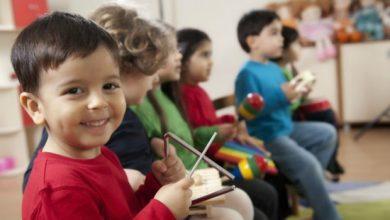 Preschool_kids_music_class-1-390x220 ورزش های مناسب برای کودکان تمرینات ورزشی و تناسب اندام خانه کودک دسته بندی نشده کودک سالم ورزش ورزش درمانی   وردنگار
