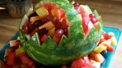 Watermelon-fruit-basket-3915930123_1761687cb7_o-590bf6113df78c92833dabb0-3-390x220 آموزش ساخت سبد تزئینی هندوانه برای شب یلدا+ویدئو آشپزی دسرها سبک زندگی مهارت های زندگی   وردنگار