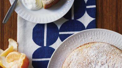 almond-cake-with-elderflower-390x220 کیک با آرد بادام را اینگونه درست کنید آشپزی کیک ها   وردنگار