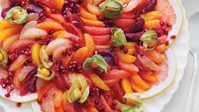 citrus-salad-a130522-04-8639-md110267_horiz-390x220 طرز تهیه سالاد انار با مرکبات مناسب برای شب یلدا آشپزی دسرها سبک زندگی مهارت های زندگی   وردنگار