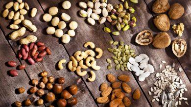 different-kinds-of-nuts-1-390x220 آجیل خطر بیماری قلبی عروقی را کاهش می دهد تغذیه سالم سلامت طب سنتی و داروهای گیاهی مطالب سلامت   وردنگار