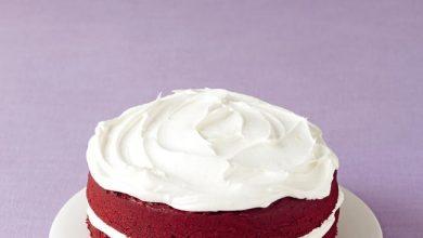 easy-red-velvet-cake-390x220 آموزش طرز تهیه کیک مخملی قرمز یک دسر آمریکایی آشپزی کیک ها   وردنگار