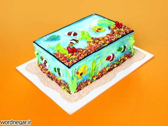 fish-extreme-cakeovers-fsl طرح های خلاقانه کیک تولد برای بچه ها آشپزی شیرینی ها کیک ها   وردنگار