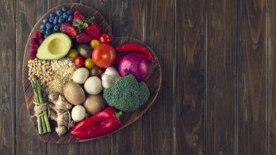 fruits-and-vegetables-in-the-shape-of-a-heart-390x220 تاثیر رژیم غذایی کراش (crash diets) بر عملکرد قلب تغذیه سالم دسته بندی نشده مطالب سلامت   وردنگار