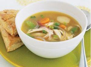image-18-299x220 سوپ سبزیجات و مرغ با زنجبیل و لیمو ترش را اینگونه درست کنید آشپزی سوپ ها   وردنگار