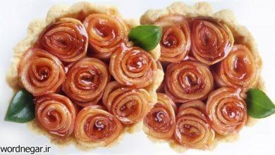 ma-550x309-1-390x220 شیرینی تارت رزی با پنیر خامه ای Rose Tarts  Apple Cream Cheese آشپزی شیرینی ها ویدئوآشپزی   وردنگار
