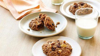 steel-cut-oatmeal-raisin-cookies-390x220 طرز تهیه کوکی کشمشی با بلغور جو دوسر، سرشار از ویتامین B آشپزی شیرینی ها   وردنگار